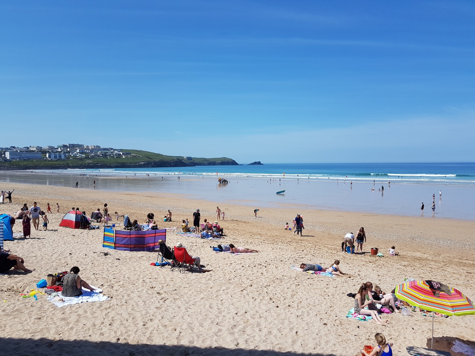 Set in the heart of Newquay